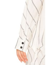 One Teaspoon - White East Village Shirt Dress - Lyst