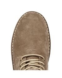 River Island - Brown Taupe Suede Boots for Men - Lyst