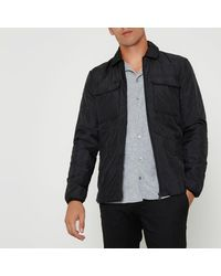River Island - Black Only & Sons Padded Jacket for Men - Lyst