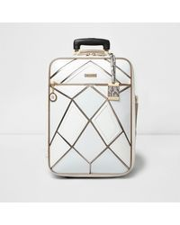 83bad9506 Learn These White And Rose Gold Cabin Suitcase {Swypeout}