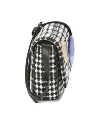 Vivienne Westwood - Black Patches Tweed Crossbody Bag - Lyst