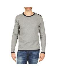Jack & Jones - Gray Plain Core Sweater for Men - Lyst