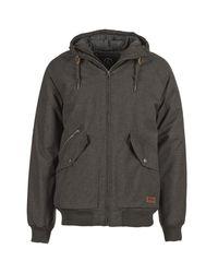 Volcom - Gray Master Coaster Men's Jacket In Grey for Men - Lyst