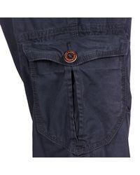 Esprit - Blue Vintage Cargo Trousers for Men - Lyst