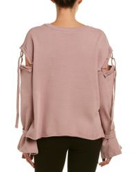 Fate - Purple Buckle Strap Pullover - Lyst
