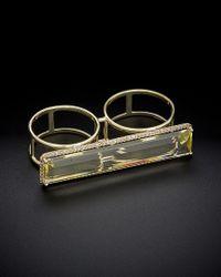 Meira T - Multicolor 14k 13.62 Ct. Tw. Diamond & Topaz Ring - Lyst