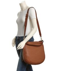 Rebecca Minkoff Brown Unlined Convertible Leather Hobo