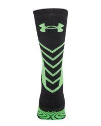 Under Armour - Black Men's Undeniable Crew Socks for Men - Lyst