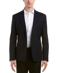 Roberto Cavalli - Black Wool Blazer for Men - Lyst