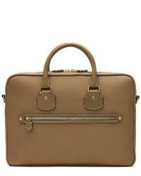 Ghurka Multicolor Vestry Leather Briefcase