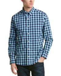 Bills Khakis - Blue Standard Issue Slim Fit Woven Shirt for Men - Lyst