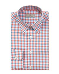 Canali - Red Dress Shirt for Men - Lyst
