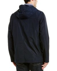Cole Haan - Blue Rain Jacket for Men - Lyst