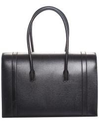 Hermès - Black Noir Vache Leather Drag Shoulder Bag - Lyst