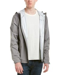 Cole Haan - Gray Seam Sealed Jacket for Men - Lyst