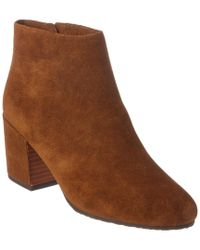Gentle Souls - Brown Blaise Suede Ankle Boot - Lyst