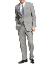 Brooks Brothers - Gray Madison 2-button Suit for Men - Lyst