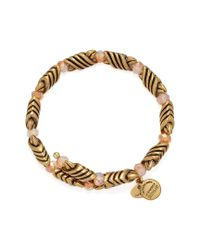 ALEX AND ANI - Metallic Depths Of The Wild Forest's Blessing Wrap Bracelet - Lyst