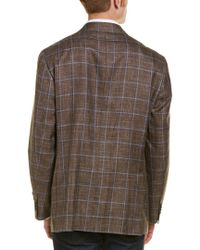 David Donahue - Brown Aiden Classic Fit Wool Sportcoat for Men - Lyst