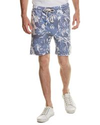 Sol Angeles - Blue Palm Short for Men - Lyst