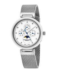 Stuhrling Original - Metallic Women's Symphony Watch - Lyst