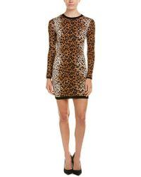 RED Valentino - Brown Leopard Pattern Dress W/ Tags - Lyst