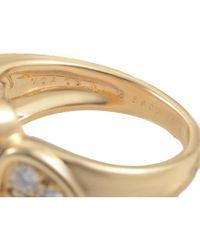 Heritage Van Cleef & Arpels - Metallic Van Cleef & Arpels 18k 0.36 Ct. Tw. Diamond & Chrysoprase Ring - Lyst