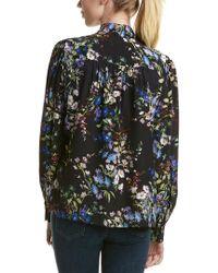Parker - Multicolor Kinsley Silk Blouse - Lyst