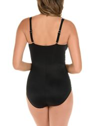 Miraclesuit - Black Miraclesuit New Revelations Sahara One-piece Swimsuit - Lyst