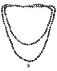 Stephen Webster - Metallic Silver & Rhodium Gemstone 34in Necklace for Men - Lyst