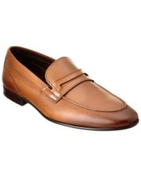 Bruno Magli - Brown M By Lorax Leather Loafer for Men - Lyst