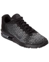 Nike - Black Women's Air Max Sequent 2 Running Shoe - Lyst