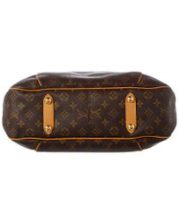Louis Vuitton Brown Monogram Canvas Galliera Gm