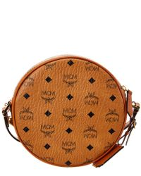 MCM - Brown Tambourine Crossbody - Lyst