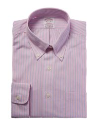 Brooks Brothers - Pink Madison Fit Dress Shirt for Men - Lyst
