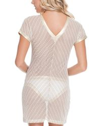 Luli Fama - White Cover-up Dress - Lyst