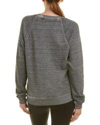 Joe's Jeans - Gray Isabella Sweatshirt - Lyst