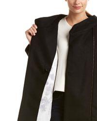 SOIA & KYO - Black Kenzie Wool & Cashmere-blend Peacoat - Lyst