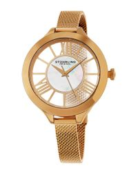 Stuhrling Original - Metallic Women's Vogue Watch - Lyst