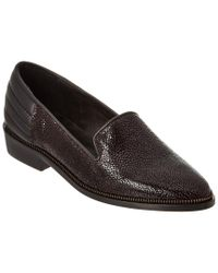 The Kooples - Black Leather Slipper - Lyst