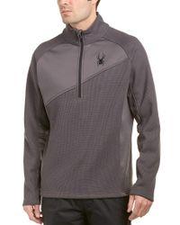 Spyder - Gray Verger Lightweight Core Sweater for Men - Lyst