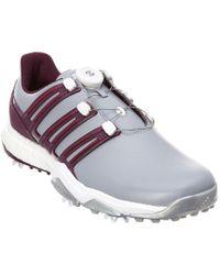 Adidas Originals - Purple Powerband Boa Boost Golf Shoe for Men - Lyst