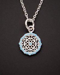 Argento Vivo - Metallic Silver Nano Turquoise Necklace - Lyst
