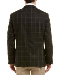 Ike Behar Green Sonny Classic Fit Wool Sportcoat for men