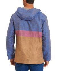 Robert Graham - Blue Fish Creek Classic Fit Linen-blend Outerwear for Men - Lyst