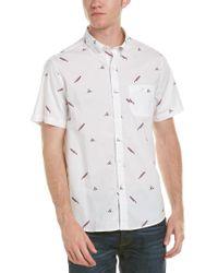 Michael Bastian - White Gray Label Woven Shirt for Men - Lyst