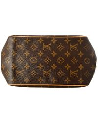 Louis Vuitton Brown Monogram Canvas Batignolles Vertical Pm