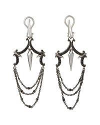 Stephen Webster - Metallic 14k & Silver 0.49 Ct. Tw. Sapphire Drop Earrings - Lyst