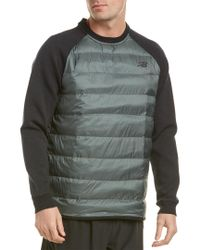 New Balance Green Sport Style Sweater for men