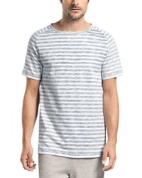 Hanro - Gray Raul Short Sleeve Shirt for Men - Lyst